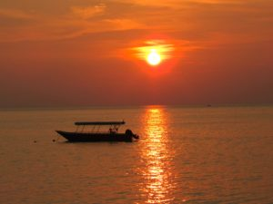 Nipah Beach Sunset, Pangkor, Malaysia