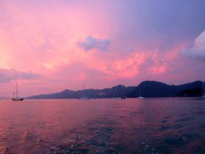 Cruising sailing Langkawi
