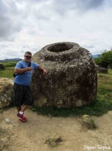 plain of Jars, Laos_huge stone jars