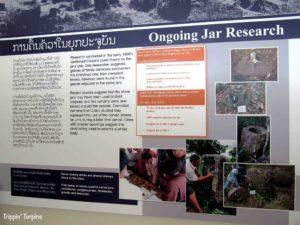 Giant jar research, Laos