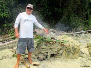 Dwayne's beach oven, Pulau Bawean, Indonesia