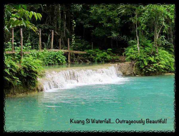 Kuang Si Waterfall - Laos!