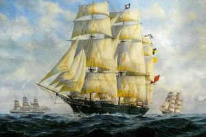 The City of Adelaide – The World's Oldest Surviving Clipper Ship!